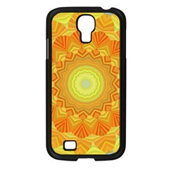 Sunshine Sunny Sun Abstract Yellow Samsung Galaxy S4 I9500/ I9505 Case (black)