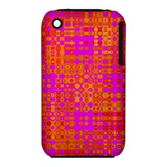 Pink Orange Bright Abstract Iphone 3s/3gs by Nexatart