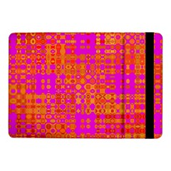 Pink Orange Bright Abstract Samsung Galaxy Tab Pro 10 1  Flip Case