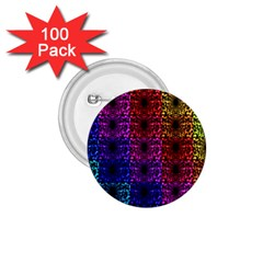 Rainbow Grid Form Abstract 1 75  Buttons (100 Pack)