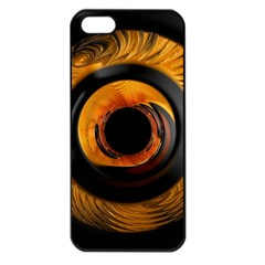 Fractal Pattern Apple Iphone 5 Seamless Case (black)