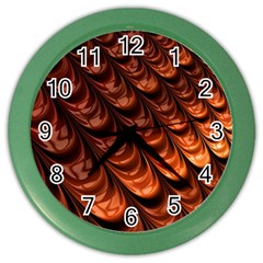 Fractal Mathematics Frax Hd Color Wall Clocks by Nexatart