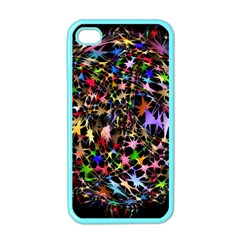 Network Integration Intertwined Apple Iphone 4 Case (color) by Nexatart