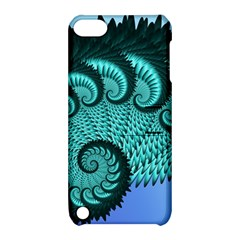 Fractals Texture Abstract Apple Ipod Touch 5 Hardshell Case With Stand