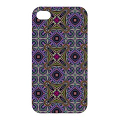 Vintage Abstract Unique Original Apple Iphone 4/4s Premium Hardshell Case by Nexatart