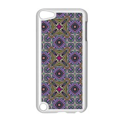 Vintage Abstract Unique Original Apple Ipod Touch 5 Case (white) by Nexatart