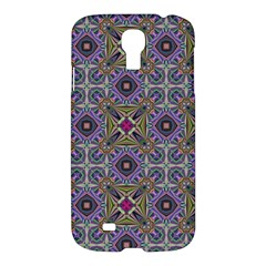 Vintage Abstract Unique Original Samsung Galaxy S4 I9500/i9505 Hardshell Case by Nexatart