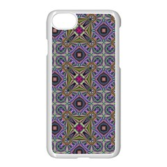 Vintage Abstract Unique Original Apple Iphone 7 Seamless Case (white)