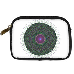 Pattern District Background Digital Camera Cases by Nexatart