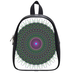 Pattern District Background School Bags (small)