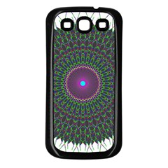 Pattern District Background Samsung Galaxy S3 Back Case (black)