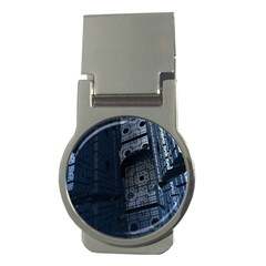 Graphic Design Background Money Clips (round)  by Nexatart