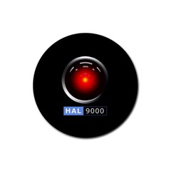 Hal 9000 Rubber Round Coaster (4 Pack)