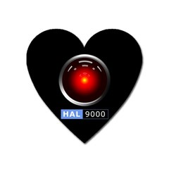 Hal 9000 Heart Magnet by linceazul