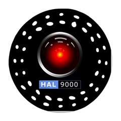 Hal 9000 Ornament (round Filigree) by linceazul