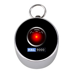 Hal 9000 Mini Silver Compasses