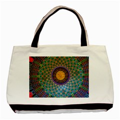 Temple Abstract Ceiling Chinese Basic Tote Bag