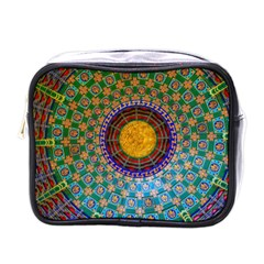 Temple Abstract Ceiling Chinese Mini Toiletries Bags by Nexatart