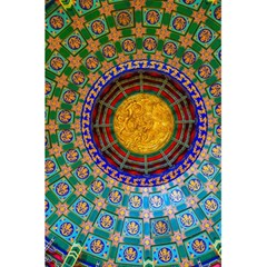 Temple Abstract Ceiling Chinese 5 5  X 8 5  Notebooks by Nexatart