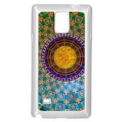 Temple Abstract Ceiling Chinese Samsung Galaxy Note 4 Case (white)