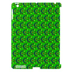 Abstract Art Circles Swirls Stars Apple Ipad 3/4 Hardshell Case (compatible With Smart Cover) by Nexatart