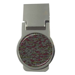 Full Frame Shot Of Abstract Pattern Money Clips (round)  by Nexatart