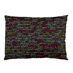 Full Frame Shot Of Abstract Pattern Pillow Case by Nexatart