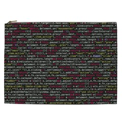 Full Frame Shot Of Abstract Pattern Cosmetic Bag (xxl)