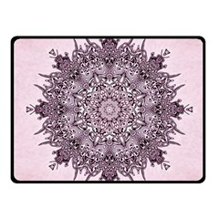 Sacred Art Shaman Shamanism Fleece Blanket (small)