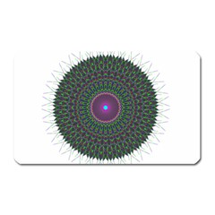 Pattern District Background Magnet (rectangular)