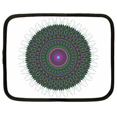 Pattern District Background Netbook Case (large) by Nexatart