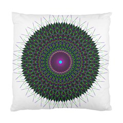 Pattern District Background Standard Cushion Case (one Side) by Nexatart