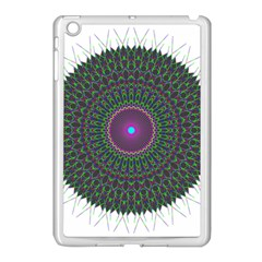 Pattern District Background Apple Ipad Mini Case (white)