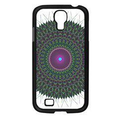 Pattern District Background Samsung Galaxy S4 I9500/ I9505 Case (black) by Nexatart