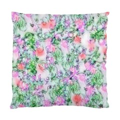Softly Floral A Standard Cushion Case (two Sides) by MoreColorsinLife