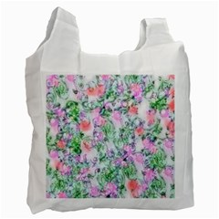 Softly Floral A Recycle Bag (one Side) by MoreColorsinLife
