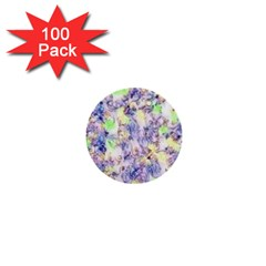 Softly Floral B 1  Mini Buttons (100 Pack)  by MoreColorsinLife