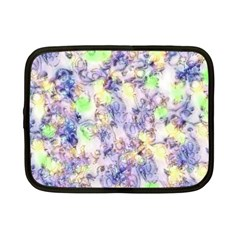 Softly Floral B Netbook Case (small)  by MoreColorsinLife