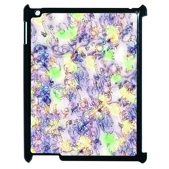 Softly Floral B Apple Ipad 2 Case (black) by MoreColorsinLife