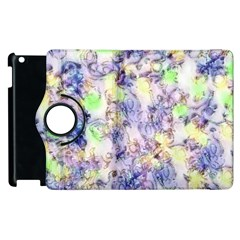 Softly Floral B Apple Ipad 2 Flip 360 Case by MoreColorsinLife
