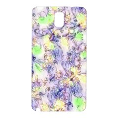 Softly Floral B Samsung Galaxy Note 3 N9005 Hardshell Back Case by MoreColorsinLife