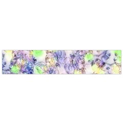 Softly Floral B Flano Scarf (small) by MoreColorsinLife