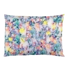 Softly Floral C Pillow Case by MoreColorsinLife