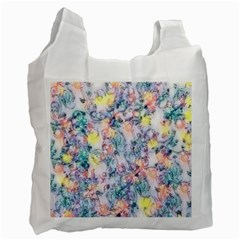 Softly Floral C Recycle Bag (one Side) by MoreColorsinLife