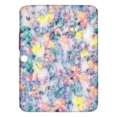 Softly Floral C Samsung Galaxy Tab 3 (10 1 ) P5200 Hardshell Case  by MoreColorsinLife