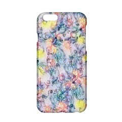 Softly Floral C Apple Iphone 6/6s Hardshell Case by MoreColorsinLife