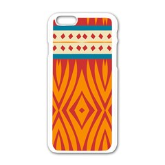 Shapes In Retro Colors Motorola Moto E Hardshell Case by LalyLauraFLM