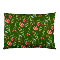 Sunny Garden I Pillow Case by tarastyle