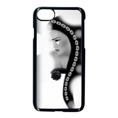 Silence Of Beauty Apple Iphone 7 Seamless Case (black) by mugebasakart