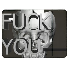 Fuck You Samsung Galaxy Tab 7  P1000 Flip Case by mugebasakart
